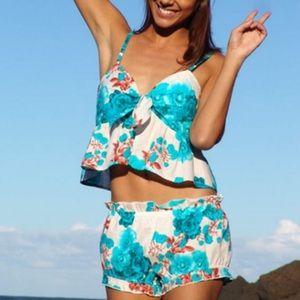 Two piece pajama summer set